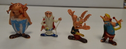 HUILOR OBELIX,ASTERIX,PANORAMIX Et ASURANCETOURIX LOT DE 4 H5cm En L'état VOIR PHOTO - Asterix & Obelix