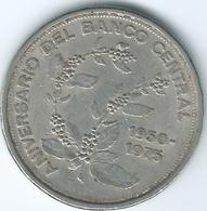 Costa Rica - 5 Colones - 1975 - 25th Anniversary Of Central Bank - KM203 - Costa Rica