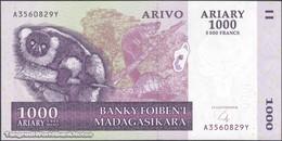 TWN - MADAGASCAR 89b - 1000 1.000 Ariary 2004 A XXXXXXX Y UNC - Madagascar