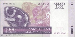 TWN - MADAGASCAR 89b - 1000 1.000 Ariary 2004 B XXXXXXX C UNC - Madagascar