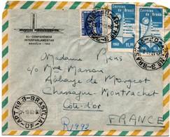 Brasilia DF Apt N°3 - 1962 - Enveloppe 51 Conferencia Interparlamentar - Storia Postale