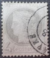 DF40266/1223 - CERES N°52 (défectueux) - CàD : LE HAVRE - Cote (2020) : 60,00 € - 1871-1875 Ceres
