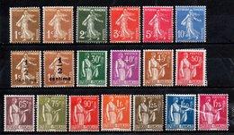 FRANCE Année Complète De 1932 NEUVE* - ....-1939