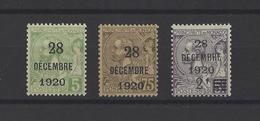 MONACO. YT  N° 48/50  Neuf **  1921 - Unused Stamps