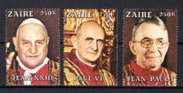 ZAIRE 975/979 MNH 1979 - De Pausen - Zaire