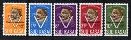 "ZUID-KASAI 20C/24C MNH 1961 - Opdruk ""Pour Les Repatries"" - Sud-Kasaï"