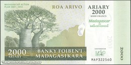 TWN - MADAGASCAR 93 - 2000 2.000 Ariary 2007 Madagascar Action Plan 2007-2012 - Prefix MAP UNC - Madagascar
