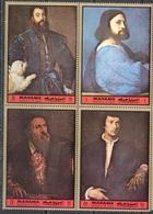 M3135 ✅ Art Painting Titian 1972 Manama 4v Set MNH ** - Arte