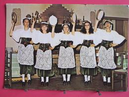 "Visuel Très Peu Courant - Italie - Velletri - ""O Stazzo"" Gruppo Folk - Costumi Vileterni - Recto Verso - Velletri"