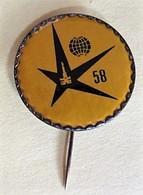 Pin's - Exposition Universelle De Bruxelles - 1958 - Steden