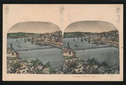 STEREO CARD  VUE DE PORTO - Porto