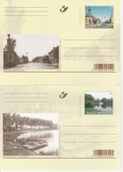 BK160/169. AUTREFOIS... ET MAINTENANT - Illustrat. Cards