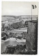 Cpsm: 08 GIVET (ar. Charleville - Mézières) La Piscine, Le Camping Vue Prise Du Fort  Ed. La Cigogne  N° 08.190.36 - Givet