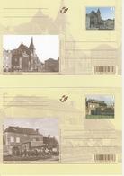 BK175/184. AUTREFOIS....ET MAINTENANT - Cartoline Illustrate