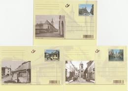 BK185/195. AUTREFOIS....ET MAINTENANT - Cartoline Illustrate