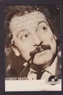 CPSM Autographe Georges BRASSENS  Non Circulé - Autographes