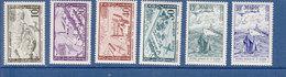 MAROC POSTE AERIENNE ANNEES 1954 -- 94/99 NEUF SANS  CHARNIERE - Morocco (1891-1956)