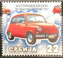 Serbia, 2010, Mi: 346 (MNH) - Cars