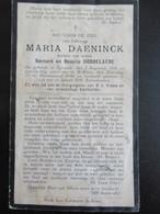 DP Maria Daeninck - Dochter Van Rosalia Dobbelaere - Devotion Images