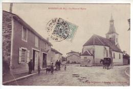 52 Rozières - La Place Et L'Eglise  - Ed: Brunclair - Frankrijk