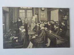 Ancien CP Animée Bruxelles Rue Traversière Ecole Normale Professionnelle Des Filles De La Sagesse Classe - St-Josse-ten-Noode - St-Joost-ten-Node