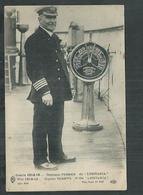 Capitaine Turner Du Paquebot Lusitania , Guerre De 1914/18 - Guerre 1914-18