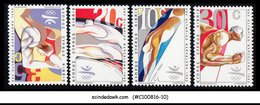 CYPRUS-1992 SPORTS/OLYMPICS BARCELONA 4V MINT NH - Unclassified