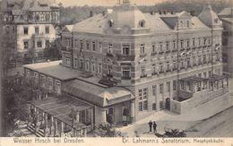 WEISSER HIRSCH Dresden (SN) Dr. Lahmann's Santorium - Dresden