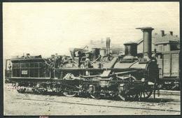Locomotives De L'Est - Machine N° 607 - Type 030 - H.M.P. N° 144 - Voir 2 Scans - Trains