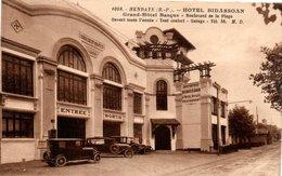 CPA HENDAYE - HOTEL BIDASSOAN - GRAND HOTEL BASQUE - BOULEVARD DE LA PLAGE - Hendaye