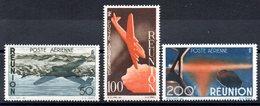 REUNION - YT PA N° 42 à 44 - Neufs ** - MNH - Cote: 51,00 € - La Isla De La Reunion (1852-1975)