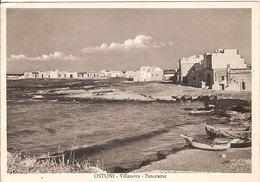 (C).Ostuni(BR).Villanova-Panorama.F.to Grande.Viaggiata Il 30-12-1953 (c17) - Brindisi