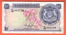 SINGAPOURE Billet 1 Dollar De 1971 - Pick 1c - Singapore