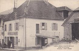 Lus La Croix Haute: Hôtel De La Poste/ Cliché Animé Et Inconnu! - Autres Communes