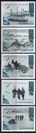 Ross Dependency 2008 British Antarctic Expedition Ship 5v MNH - Antarctic Expeditions