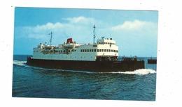 "PORT BORDEN, Prince Edward Island, New Passenger & Car Ferry, ""M V S CONFEDERATION"", Old Chrome Postcard - Ile Du Prince-Édouard"