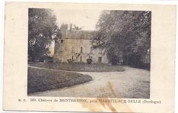 CPA - Mareuil Sur Belle - Château De Montbreton - France
