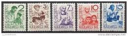 Nederlands Indie NVPH Nr 293/297 Ongebruikt (MLH, Neuf Avec Charniere) Moehammadijah - Netherlands Indies