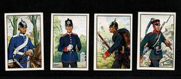Militaria Guerre De 1870 Uniforme Allemand  Lot De 4 Chromos STURM  TTB  2 Scan  (lot 3) - Sturm