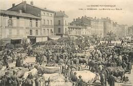 ROMANS  Le Marché Aux Boeufs - Romans Sur Isere