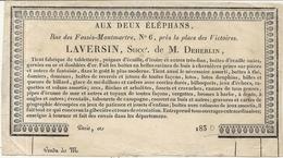AUX DEUX ELEPHANS . FABRIQUE ART ASIATIQUE ,JEUX,PIPES,EVENTAIL ,JOUETS ... - Francia