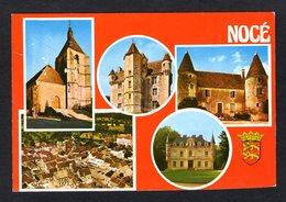 Pas Courant - NOCE ( 61 Orne ) Vue Aérienne De La Ville, Eglise , Château, Manoir ( Cim, Combier N° C 61.309.00.4.3520 ) - France