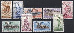 1960 Repubblica Olimpiadi Roma N. 885 - 893 Serie Completa Timbrati Used - 1946-60: Used
