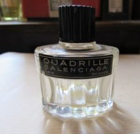 Miniature Flacon Parfum Quadrille Balenciaga Vide - Unclassified