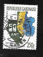 TIMBRE OBLITERE DU GABON DE 2010 N° MICHEL 1700 - Gabon