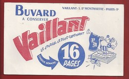 BUVARD ILLUSTRÉ - PRESSE POUR ENFANTS - VAILLANT, LE JOURNAL LE PLUS CAPTIVANT - Kinder