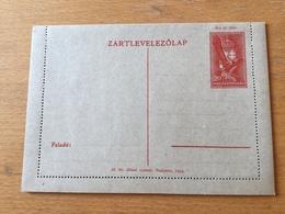 KS1 Ungarn Ganzsache Stationery Entier Postal K 41 - Entiers Postaux