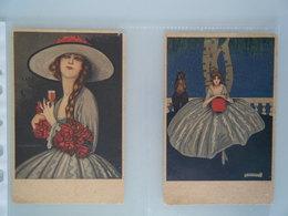 Cartolina Postale ( 2 ) Marsala FLORIO Vintage - Advertising