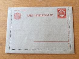 KS1 Ungarn Ganzsache Stationery Entier Postal K 40 - Entiers Postaux