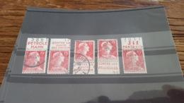 LOT 498700 TIMBRE DE FRANCE OBLITERE BORD DE FEUILLE PUBLICITE - Publicités